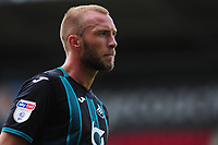 Mike van der Hoorn of Swansea City during the pre season friendly match between Exeter City and Swansea City at St James Park in Exeter, England, UK. Saturday, 20 July 2019