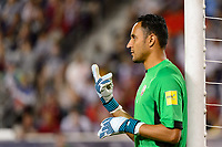 Harrison, NJ - Friday Sept. 01, 2017: Keylor Navas during a 2017 FIFA World Cup Qualifier between the United States (USA) and Costa Rica (CRC) at Red Bull Arena.