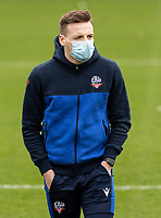 Bolton Wanderers' Tom White pictured before the match<br /> <br /> Photographer Andrew Kearns/CameraSport<br /> <br /> The EFL Sky Bet League Two - Stevenage v Bolton Wanderers - Saturday 21st November 2020 - Lamex Stadium - Stevenage<br /> <br /> World Copyright © 2020 CameraSport. All rights reserved. 43 Linden Ave. Countesthorpe. Leicester. England. LE8 5PG - Tel: +44 (0) 116 277 4147 - admin@camerasport.com - www.camerasport.com