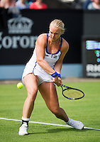 16-06-13, Netherlands, Rosmalen,  Autotron, Tennis, Topshelf Open 2013, Eerste ronde,  Kiki Bertens<br /> <br /> Photo: Henk Koster