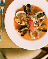 Being an island, fresh seafood is high on the menu of every local restaurant