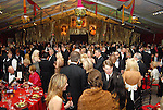Inside the tent at the Houston Grand Opera's Opening Night dinner Friday Oct. 23,2009. (Dave Rossman/For the Chronicle)