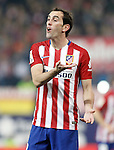 Atletico de Madrid's Diego Godin during Spanish Kings Cup match. January 27,2016. (ALTERPHOTOS/Acero)