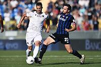 Pisa 02/10/2021 - campionato di calcio serie B / Pisa-Reggina / photo Image Sport/Insidefoto<br /> nella foto: Yonatan Cohen-Lorenzo Crisetig