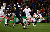 Friday 22nd November 2019   Ulster Rugby vs Clermont Auvergne<br /> <br /> Will Addison during the Heineken Champions Cup Pool 3 Round 2 match between Ulster Rugby  and Clermont Auvergne at Kingspan Stadium, Ravenhill Park, Belfast, Northern Ireland. Photo by John Dickson/DICKSONDIGITAL