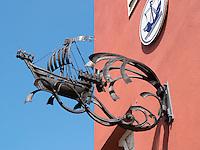 Gasthaus zur Kogge in Rostock, Mecklenburg-Vorpommern, Deutschland