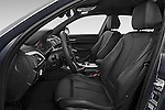 Front seat view of a 2015 BMW 1 Series M Sport 5 Door Hatchback Front Seat car photos