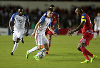 Panama City, Panama - March 28, 2017: The U.S. Men's National team go up against Panama in a 2018 World Cup Qualifying Hexagonal match at Estadio Rommel Fernandez.