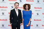 Victor Clavijo and Montse Pla attend the MENS HEALTH AWARDS at Goya Theatre in Madrid, Spain. October 28, 2014. (ALTERPHOTOS/Carlos Dafonte)