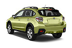 Car pictures of rear three quarter view of a 2015 Subaru XV Crosstrek Hybrid 5 Door SUV Angular Rear