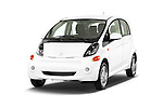 2014 Mitsubishi i MIEV 5 Door Hatchback angular front stock photos of front three quarter view