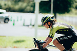 Amanda Spratt (AUS) Mitchelton-Scott Women in action during La Course 2019 By Le Tour running 121km from Pau to Pau, France. 19th July 2019.<br /> Picture: ASO/Thomas Maheux | Cyclefile<br /> All photos usage must carry mandatory copyright credit (© Cyclefile | ASO/Thomas Maheux)