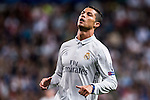 Cristiano Ronaldo of Real Madrid in action during their 2016-17 UEFA Champions League match between Real Madrid vs Sporting Portugal at the Santiago Bernabeu Stadium on 14 September 2016 in Madrid, Spain. Photo by Diego Gonzalez Souto / Power Sport Images