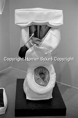 Claes Oldenburg Soft Toilet 1966. Museum of Modern Art 1969 gallery exhibition.