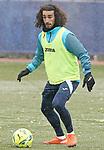 Getafe CF's Marc Cucurella during training session. January 7, 2021.(ALTERPHOTOS/Acero)