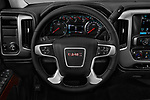 Car pictures of steering wheel view of a 2017 GMC Sierra-1500 Crew-SLE 4 Door Pickup Steering Wheel