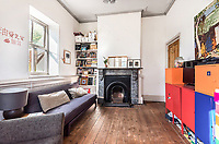 BNPS.co.uk (01202) 558833. <br /> Pic: Stags/BNPS<br /> <br /> Pictured: The house has 1,280 sq ft of living space with a sitting/dining room, kitchen, garden room, three bedrooms and a family bathroom.<br /> <br /> Just the ticket...<br /> <br /> A converted railway station with an old train carriage in the garden - on the market for offers over £550,000 - is the perfect home for train enthusiasts.<br /> <br /> Station Halt was the station for Brampford Speke in Devon on the Exe Valley Railway line until it closed as part of the Beeching cuts in 1963.<br /> <br /> The 136-year-old building was converted shortly after and is now a pretty three-bedroom bungalow with original features including the waiting room fireplace, ticket office window and the old train platform.<br /> <br /> There is even an old train carriage in the 6.2-acre gardens that could be converted and earn income as a holiday rental.