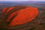 Aerial of Ayers Rock, Uluru-Kata Tjuta National Park, Australia