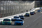 #19: Martin Truex Jr., Joe Gibbs Racing, Toyota Camry Auto Owners Insurance #32: Corey LaJoie, Go FAS Racing, Ford Mustang CorvetteParts.net