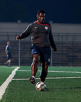 Gerson Echeverry. U.S. Under-17 Men Training  Kano, Nigeria