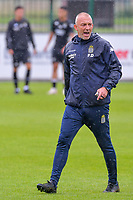 assistant coach Frank Defays of Sporting Charleroi pictured before a friendly soccer game between Zulte Waregem and Sporting Charleroi during the preparations for the 2021-2022 season , on Saturday 10 th of July 2021 in Ingelmunster , Belgium . PHOTO STIJN AUDOOREN   SPORTPIX