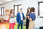 Vice Mayor of Madrid Begoña Villacis visit family support center . August 21, 2019. (ALTERPHOTOS/Francis González)