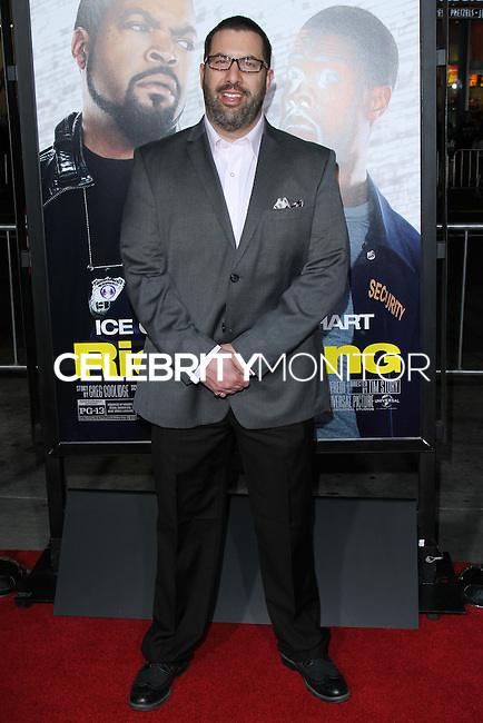 """HOLLYWOOD, CA - JANUARY 13: Christopher Lennertz at the Los Angeles Premiere Of Universal Pictures' """"Ride Along"""" held at the TCL Chinese Theatre on January 13, 2014 in Hollywood, California. (Photo by David Acosta/Celebrity Monitor)"""