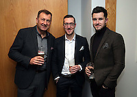 Pictured: Ben Donovan (C) and Jack Wells (R)<br /> Re: Swansea City FC Christmas party at the Liberty Stadium, south Wales, UK.