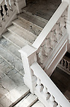Raffle's Hotel Marble Staircase - Marble staircase in Raffle's Hotel, Singapore