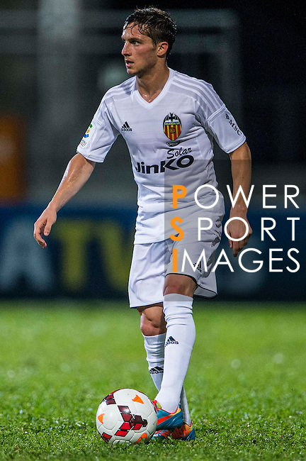 Pablo Piatti of Valencia CF in action during LFP World Challenge 2014 between Valencia CF vs Villarreal CF on May 28, 2014 at the Mongkok Stadium in Hong Kong, China. Photo by Victor Fraile / Power Sport Images