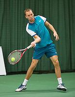 Rotterdam, Netherlands, Januari 24, 2016,  ABNAMROWTT Supermatch, Senne Braun (NED)<br /> Photo: Tennisimages/Henk Koster