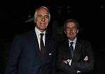 GIOVANNI MALAGO' CON FRANCO BERNABE'<br /> PREMIO GUIDO CARLI - QUARTA EDIZIONE<br /> RICEVIMENTO HOTEL MAJESTIC ROMA 2013