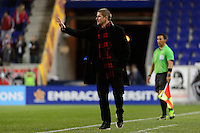 Harrison, NJ - Wednesday Feb. 22, 2017: Carl Robinson during a Scotiabank CONCACAF Champions League quarterfinal match between the New York Red Bulls and the Vancouver Whitecaps FC at Red Bull Arena.