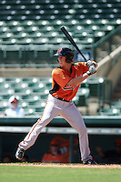 Baltimore Orioles Steve Wilkerson (26) during an instructional league game against the Minnesota Twins on September 22, 2015 at Ed Smith Stadium in Sarasota, Florida.  (Mike Janes/Four Seam Images)