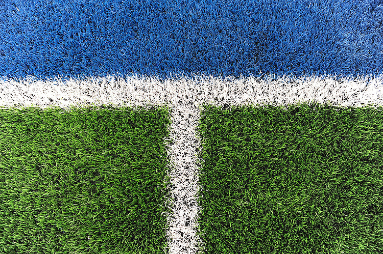 20130303 Copyright onEdition 2013©.Free for editorial use image, please credit: onEdition..Detail of the artificial pitch during the Premiership Rugby match between Saracens and London Welsh at Allianz Park on Sunday 3rd March 2013 (Photo by Rob Munro)..For press contacts contact: Sam Feasey at brandRapport on M: +44 (0)7717 757114 E: SFeasey@brand-rapport.com..If you require a higher resolution image or you have any other onEdition photographic enquiries, please contact onEdition on 0845 900 2 900 or email info@onEdition.com.This image is copyright onEdition 2013©..This image has been supplied by onEdition and must be credited onEdition. The author is asserting his full Moral rights in relation to the publication of this image. Rights for onward transmission of any image or file is not granted or implied. Changing or deleting Copyright information is illegal as specified in the Copyright, Design and Patents Act 1988. If you are in any way unsure of your right to publish this image please contact onEdition on 0845 900 2 900 or email info@onEdition.com