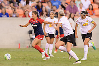 Houston, TX - Sunday Oct. 09, 2016: Katie Stengel during the National Women's Soccer League (NWSL) Championship match between the Washington Spirit and the Western New York Flash at BBVA Compass Stadium. The Western New York Flash win 3-2 on penalty kicks after playing to a 2-2 tie.