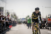 Pim Ligthart (NED/Direct Energie) at the start<br /> <br /> 62nd E3 BinckBank Classic (Harelbeke) 2019 <br /> One day race (1.UWT) from Harelbeke to Harelbeke (204km)<br /> <br /> ©kramon