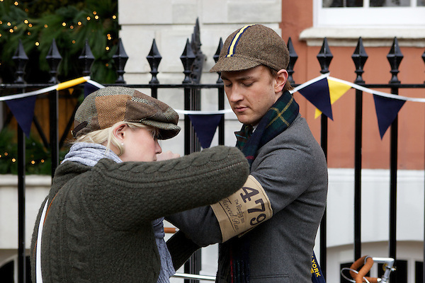 Francis Boulle gets ready for Tweed run in London