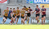 Monday 27th February 2017   ULSTER SCHOOLS CUP SEMI-FINAL<br /> <br /> Pierce McLernon during the Ulster Schools Cup Semi-Final between RBAI and Ballymena Academy  at Kingspan Stadium, Ravenhill Park, Belfast, Northern Ireland. <br /> <br /> Photograph by John Dickson   www.dicksondigital.com
