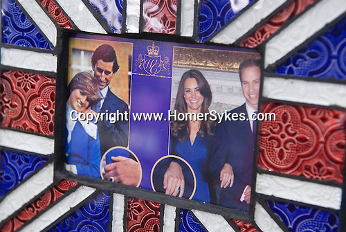 Prince William and Kate Middleton Royal Wedding Prince Charles and Princess Diana Wedding ring. Memorabilia. London shop
