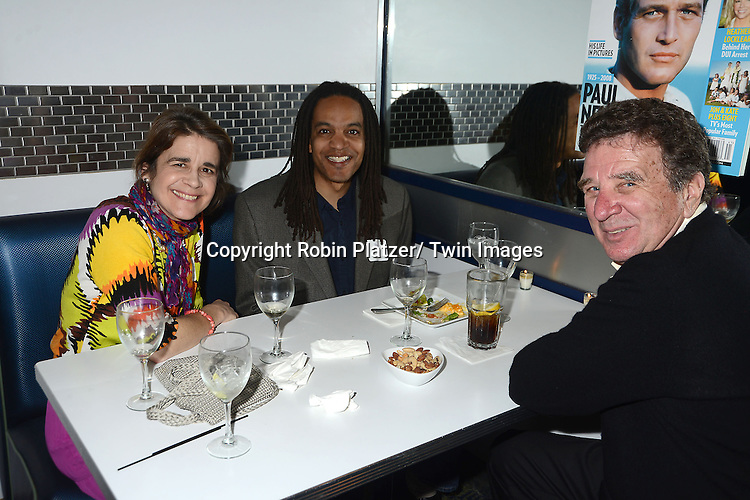 at the  People Magazine Employees Reunion on April 26, 2013 at Burger Heaven at 804  Lexington Avenue in New York City.