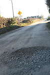 Pot Holes at Clarkes Lane Beaulieu