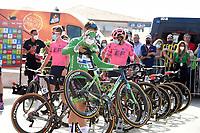4th September 2021; Sanxenxo to Castro De Herville De Mos, Pontevedra, Spain; stage 20 of Vuelta a Espanya cycling tour;  Deceuninck - Quick Step Jakobsen, Fabio in Sanxenxo