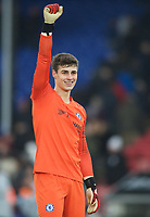 Goalkeeper Kepa ARRIZABALAGA of Chelsea during the Premier League match between Crystal Palace and Chelsea at Selhurst Park, London, England on 30 December 2018. Photo by Andrew Aleks.
