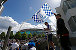 Tranmere Rovers 1 Forest Green Rovers 3, 14/05/2017. Wembley Stadium, Conference play off Final. Tranmere fans in the fan zone before the Vanarama Conference play off Final  between Tranmere Rovers v Forest Green Rovers at Wembley. Photo by Paul Thompson.