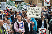 The Taxpayers Alliance Rally against Debt, Westminster.