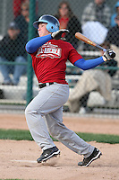 January 17, 2010:  Austin Jarvis (Eigin, IL) of the Baseball Factory East Team during the 2010 Under Armour Pre-Season All-America Tournament at Kino Sports Complex in Tucson, AZ.  Photo By Mike Janes/Four Seam Images