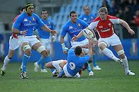 Fabio Semenzato (Italia)<br /> Italia vs Galles<br /> RBS 6 Nations Rugby Championship 2011<br /> Stadio Flaminio;<br /> Roma, 26/02/2011<br /> Photo Antonietta Baldassarre Insidefoto