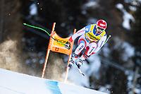 26th December 2020; Stelvio, Bormio, Italy; FIS World Cup Mens Downhill;   Carlo Janka of Switzerland during his 1st training run for the mens downhill race of FIS ski alpine world cup at the Stelvio