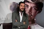 "Spanish actor Oscar Jaenada during the presentation his last film ""Cantinflas"" at Cines Verdi in Madrid, April 12, 2016. (ALTERPHOTOS/BorjaB.Hojas)"